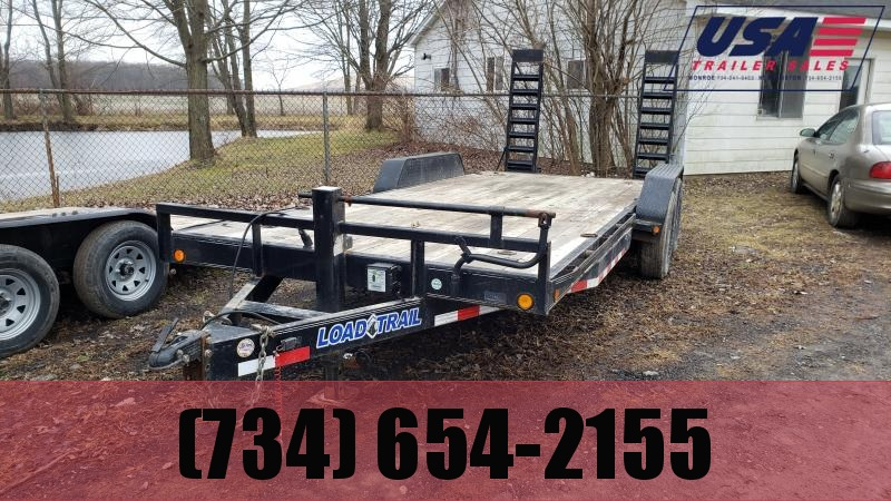 2016 Load Trail Used 83X20 Equipment Trailer Equipment Trailer