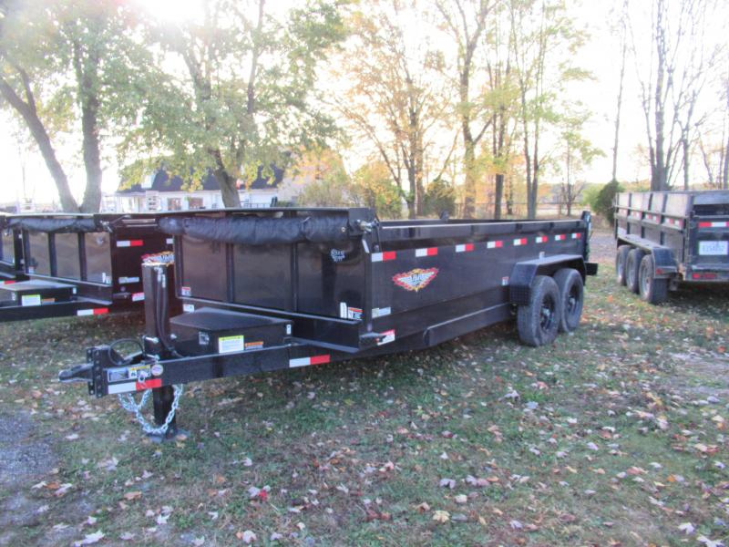 NEW 83X16 H&H DUMP TRAILER LOADED !!!!!
