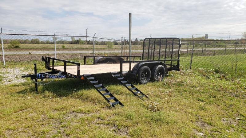 New 83x16 Load Trail Landscape Trailer W/ATV Ramps