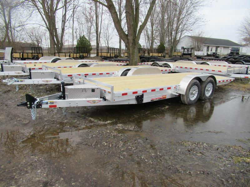New H&H 20' 14k Tilt Bed Car Hauler Trailer