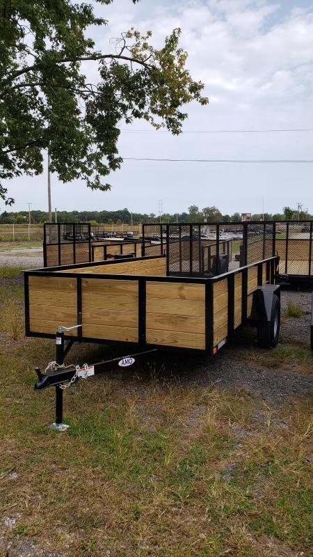 New 6.4x14 Woodside Landscape Utility Trailer