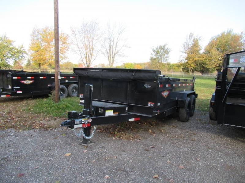 NEW 83X14 H&H DUMP TRAILER LOADED !!!!!