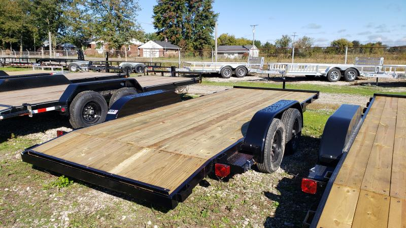 New 82x18 Carhauler Trailer W 2 Axle Brake