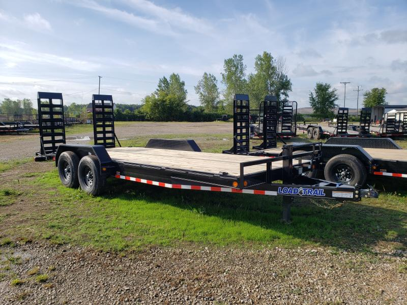 New 83x20 14K Load Trail Utitlity Equipment Trailer W/ Rub Rail