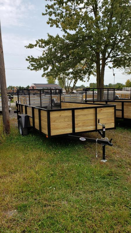 New 6.4x12 Woodside Landscape Utility Trailer
