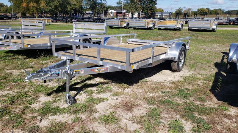NEW 76x12 ALUMINUM SHORT SIDE TRAILER