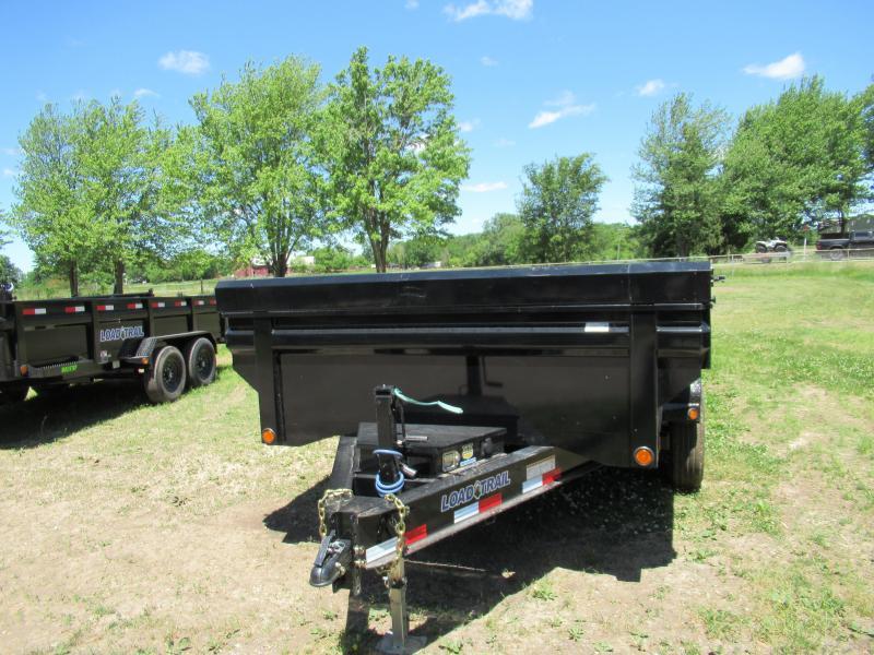 New Load Trail 83x12 14K Dump Trailer W/ King Bed