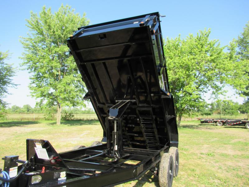 New Load Trail 83x14 14K Dump Trailer W/ Drop Axles
