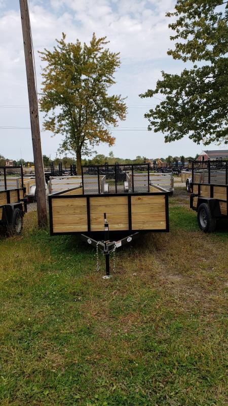 New 6.4x12 Woodside Landscape Utility Trailer