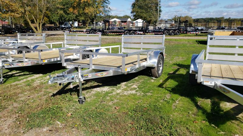 NEW 5 5x10 ALUMINUM SHORT SIDE TRAILER