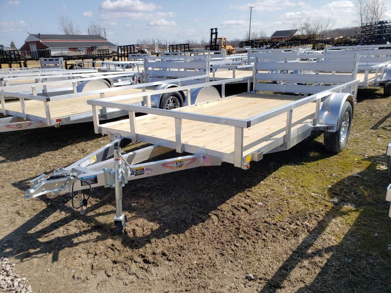 New 76x12 Aluminum Landscape Trailer