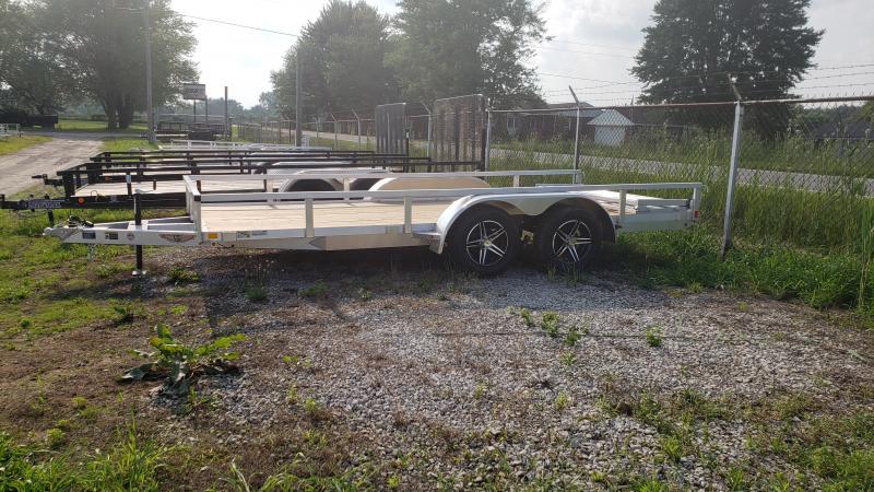 New 82x16 Aluminum Utility Trailer