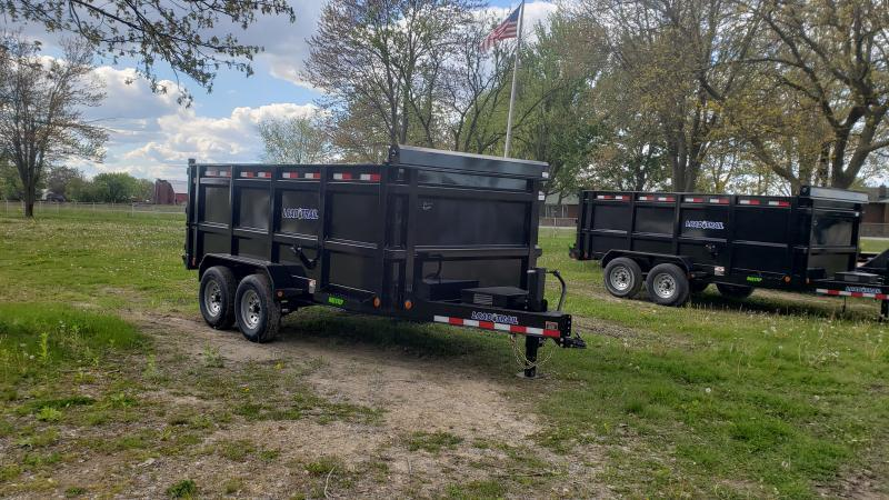New Load Trail 83x14 14K Dump Trailer W/4' Walls