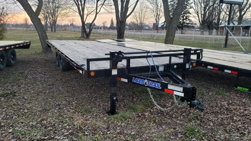 New Load Trail 24' 14K Flatbed Deck Over Trailer