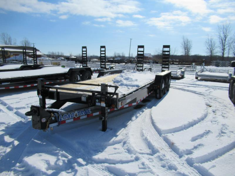 New 83x24 21K Load Trail Equipment Trailer Triple Axle