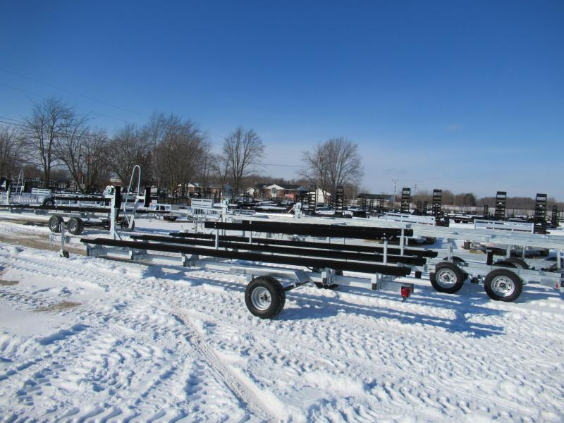 2021 Genesis 20' Single Axle Float On Pontoon Boat Trailer