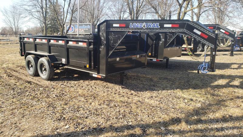 New Load Trail 83x14 Goose Neck Dump