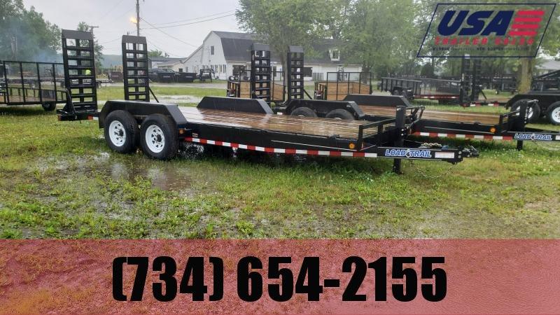 2021 Load Trail 83x22 14K Equipment Trailer Equipment Trailer