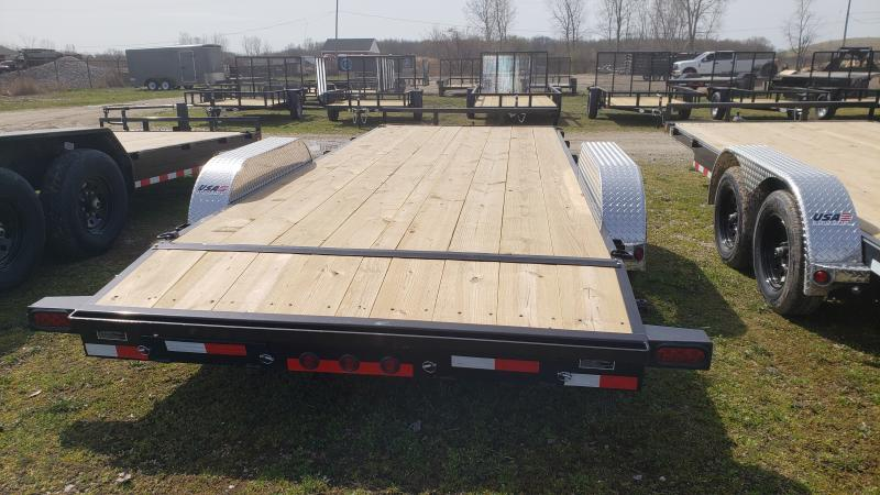 NEW 83X20 LOAD TRAIL 7K CARHAULER TRAILER