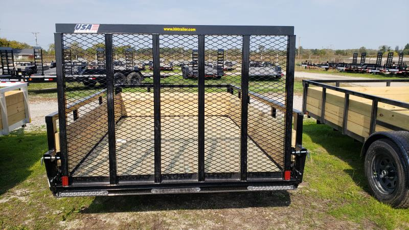 New 76X10 H H STEEL WOOD SIDE TRAILER