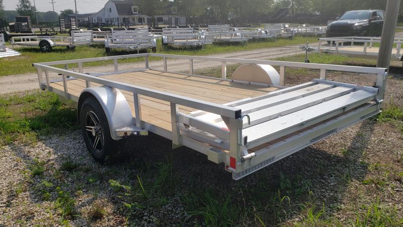 New 82x14 Landscape Trailer Aluminum Frame