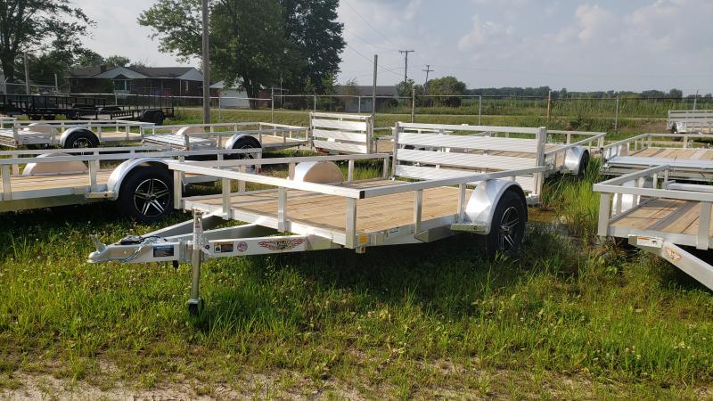 New 76x10 Aluminum Landscape Trailer.