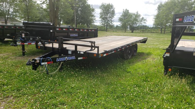 2021 Load Trail 20' Deck Over Flat Bed Equipment Trailer