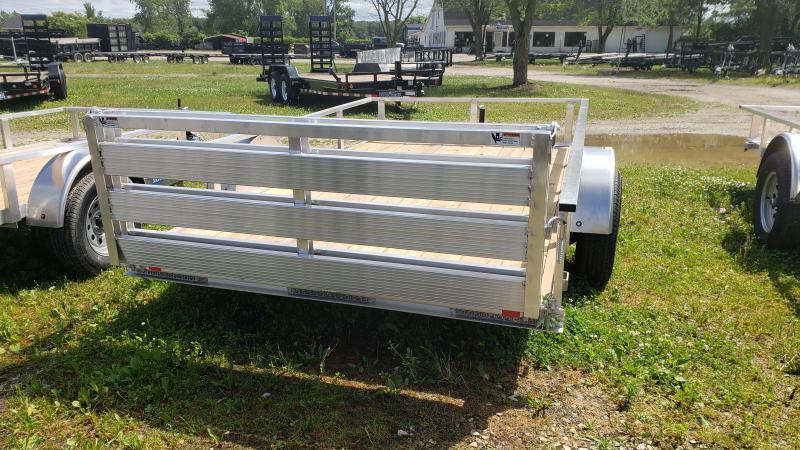 New 6.5x12 Aluminum Landscape Trailer