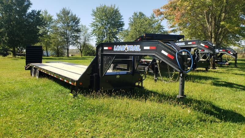 New 102 X 32 Gooseneck Deckover Trailer W/Max Ramps