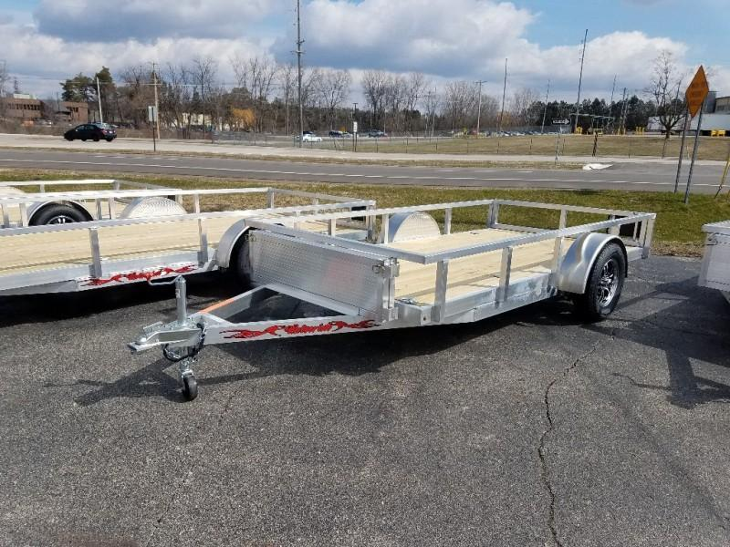 2020 Wolverine 7 x 14 Single Axle Utility Trailer