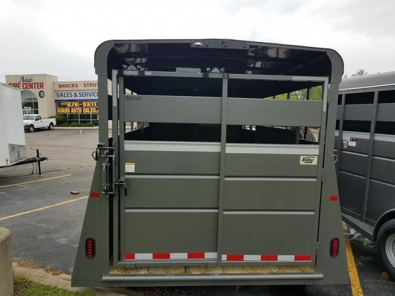 2021 Valley Livestock Trailer 6.8x16