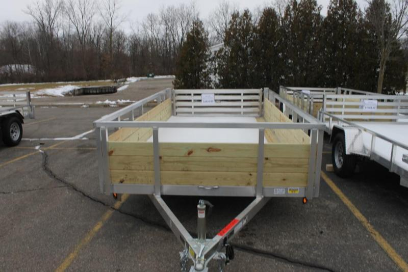 Quality Steel and Aluminum Utility Trailer 82x14 Bifold