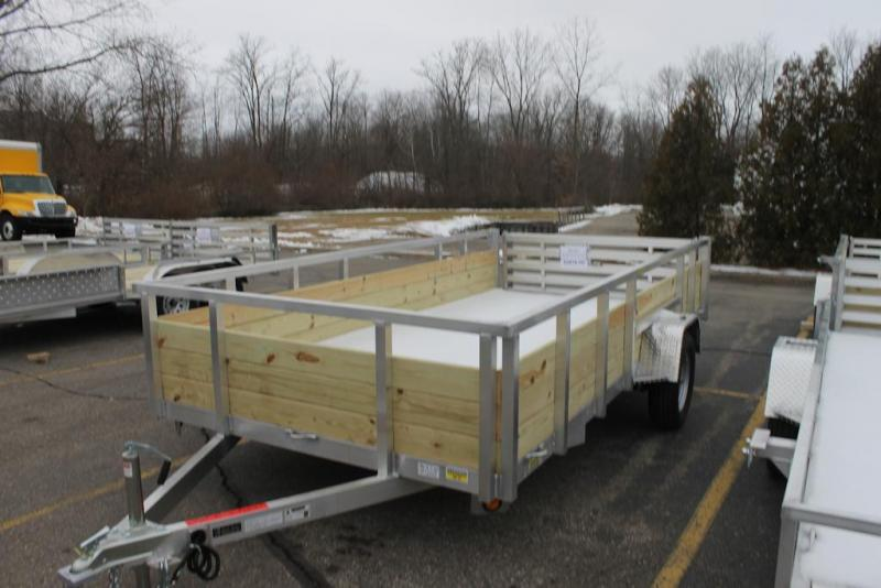 Quality Steel and Aluminum Utility Trailer 6x14 Bifold