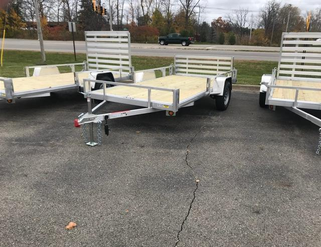 2021 Quality Steel and Aluminum ATV Trailer 74x12