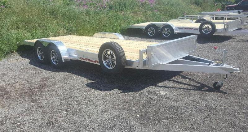 2020 Wolverine 7 x 16 Straight Axle 7K Car Hauler