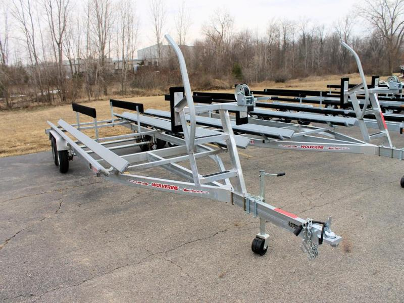 2021 Wolverine Trailers Pontoon Watercraft Trailer