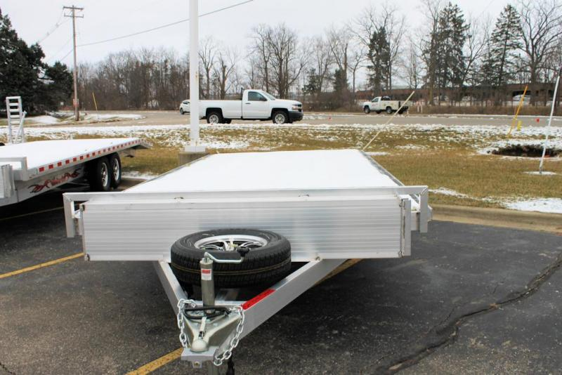 2021 Wolverine Trailers Flat Bed Car / Racing Trailer 8.5x18