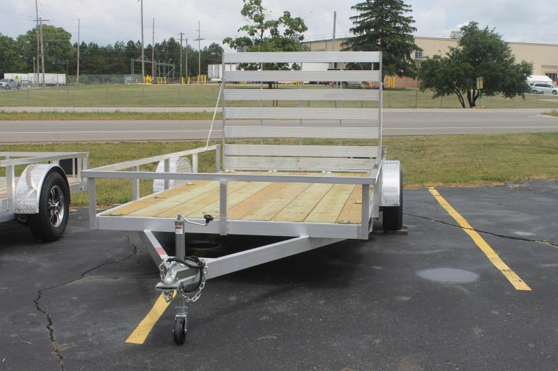 2021 7x14 Wolverine Utility Trailer Full Ramp