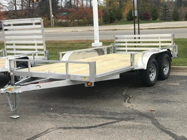 2021 Quality Steel and Aluminum ATV Trailer 82x14