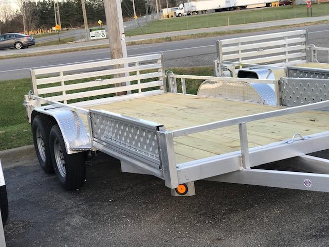 2021 Quality Steel and Aluminum ATV Trailer 82x14