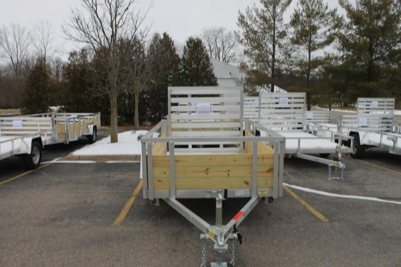 2021 Quality Steel and Aluminum Utility Trailer 5X8