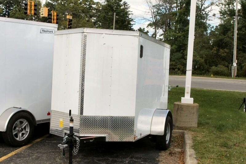 2020 Haulmark Michigan 5 x 8 Enclosed Trailer