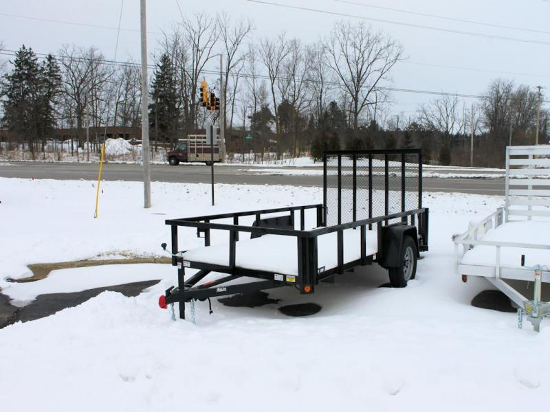 2021 Quality Steel and Aluminum Utility Trailer Low Side