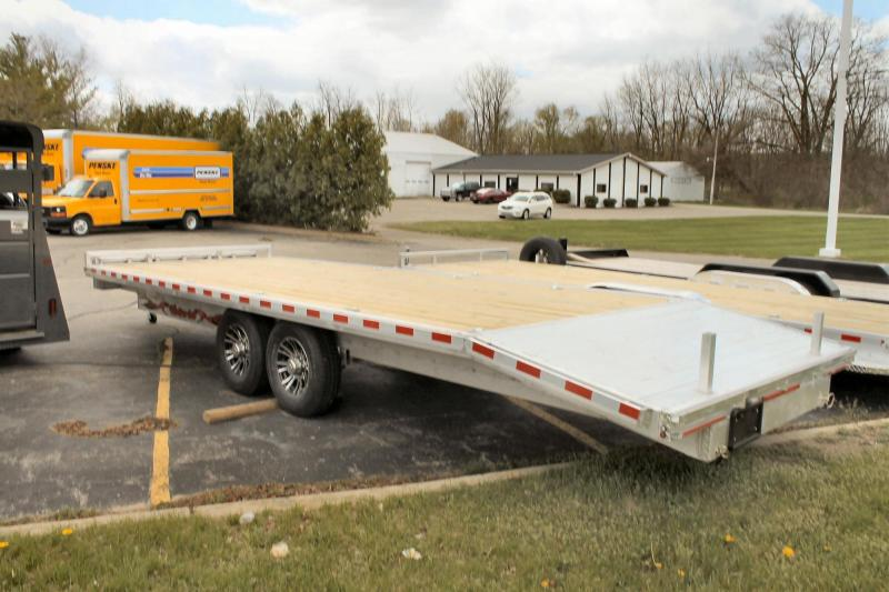 2020 Wolverine Trailers Equipment Trailer Deck Over 8.5x24 Financing for Everyone 0 Down