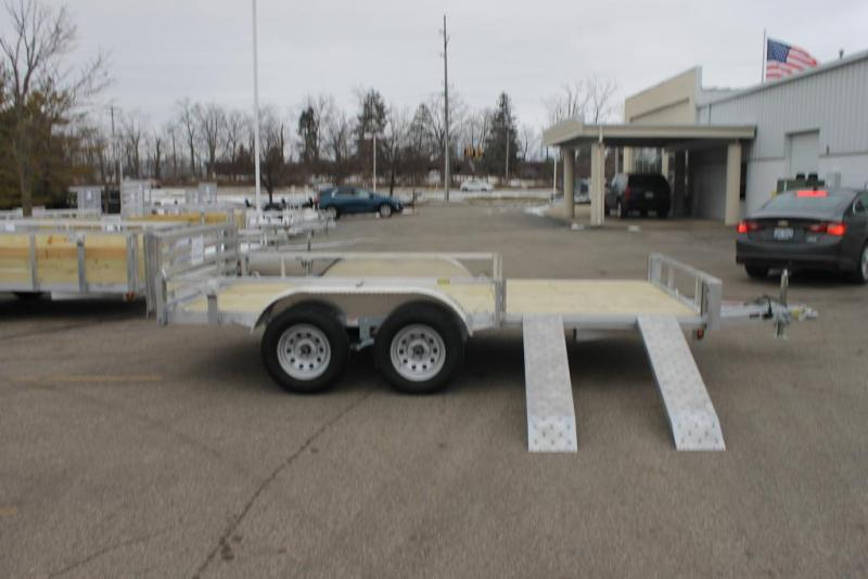 2021 Quality Steel and Aluminum Utility ATV Trailer 82x14