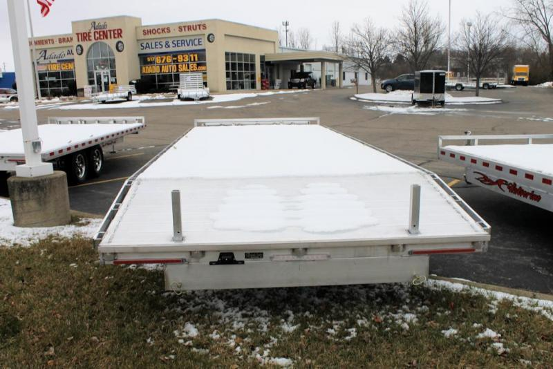 2021 Wolverine Trailers Flat Bed 8.5x24 Deck Over
