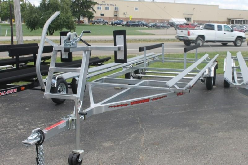 2021 Wolverine 24' Pontoon Trailer Senior All American Tandem Bunk