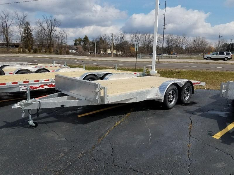 2020 Wolverine 7 x 18 Straight Axle 7K Car Hauler