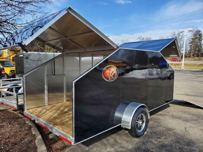 2020 Wolverine Trailers Snowmobile/ATV Enclosed Cargo Trailer