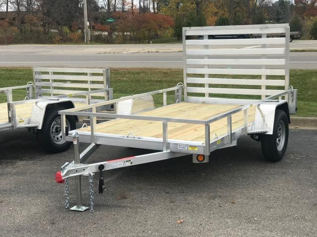 2021 Quality Steel and Aluminum Utility Trailer  74x10